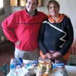 Entrega de Leche al Centro Comunitario Caritas Felices