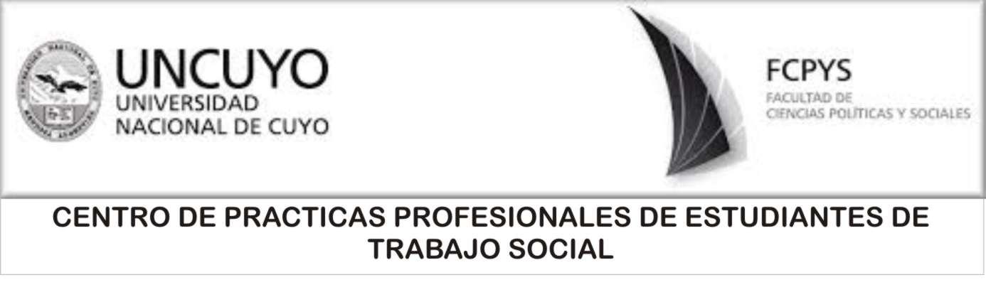 UNCUYO - TRABAJO SOCIAL